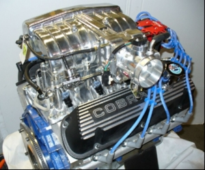 Ford 302 V8, 360hp, electronic fuel injection, EFI