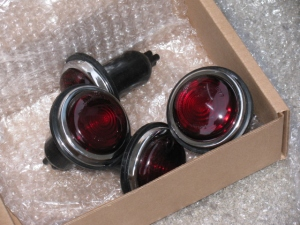 factory five racing type 65 red taillights