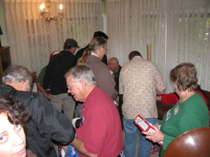 Gift exchange crowd