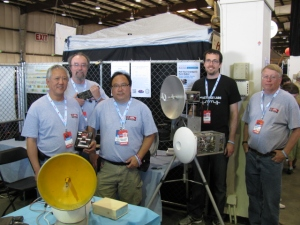 2012 Bay Area Maker Faire - Left to Right: