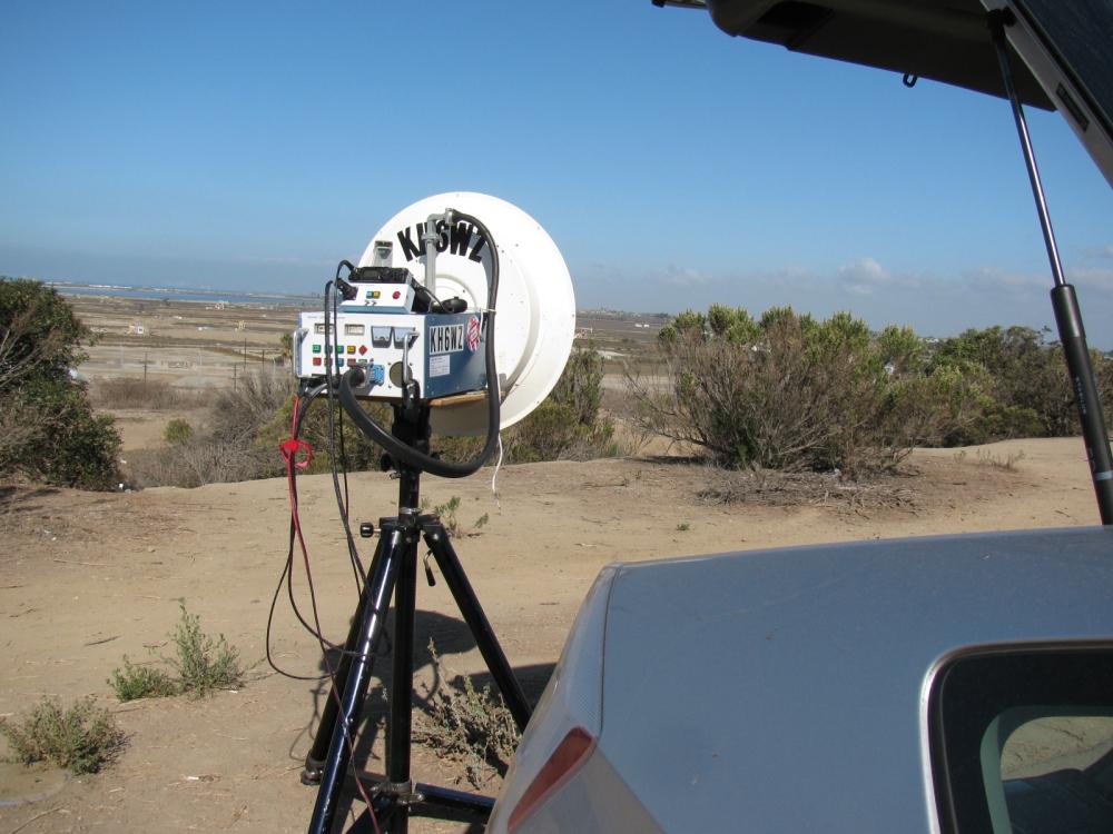 Wayne Yoshida, KH6WZ in DM03xq – Huntington Beach, CA
