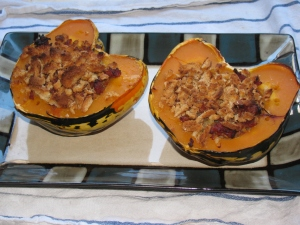 Stuffed squash 2 done.