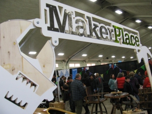 MakerPlace - a place where fellow Makers can gather and make, share and borrow tools and ideas to make things. Funny, it sounds like what a good and active ham radio club should be