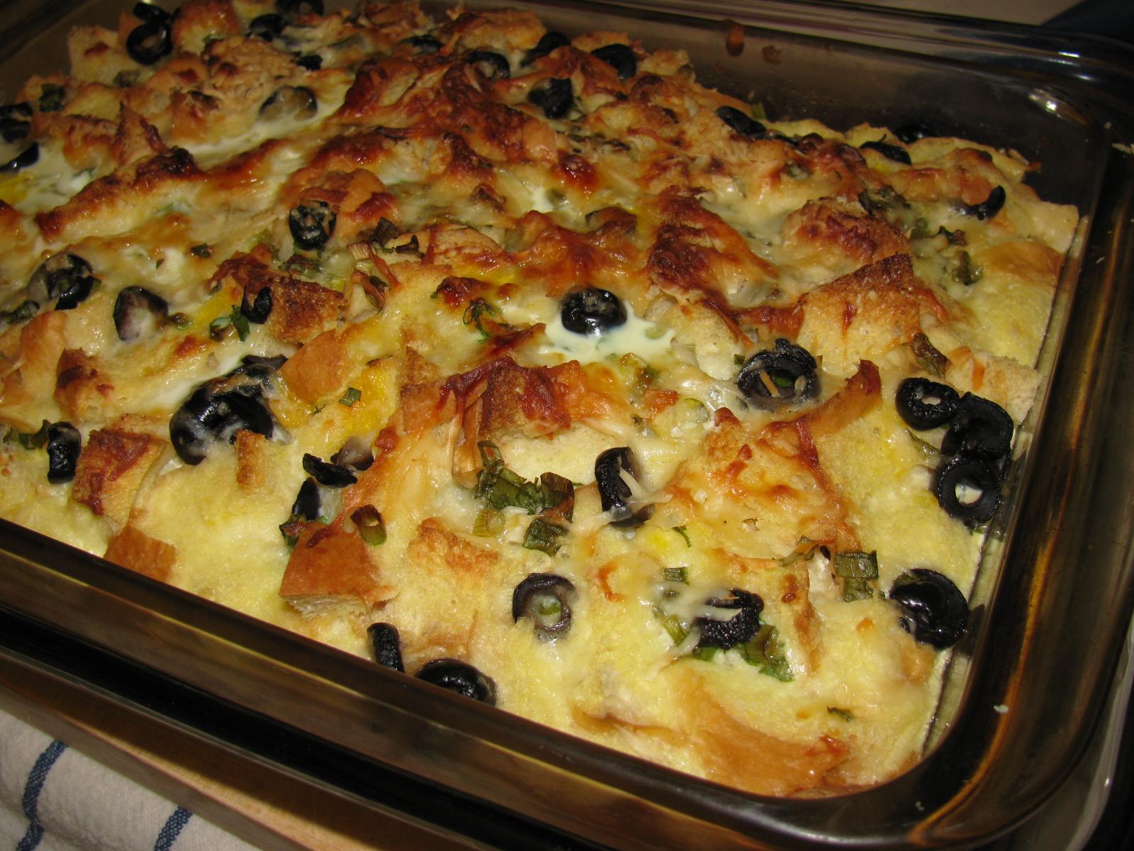 A Savory Bread Pudding | wayneyoshidakh6wz
