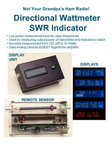 Directional coupler - SWR meter 1