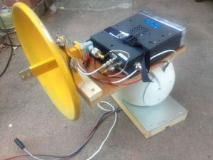 Antenna positioning system by Brian W6BY