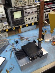 W6DQ - Dennis 10 GHz transmitter-receiver with software defined radio (SDR)