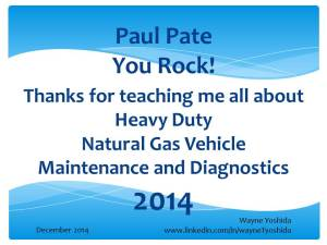 wayne yoshida tech writer Paul Pate You Rock 2014