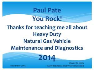 wayne yoshida tech writer Paul Pate You Rock 2014