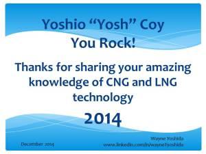 Wayne Yoshida tech writer YOSH ROCKS