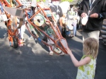 The Electric Giraffe at Maker Faire