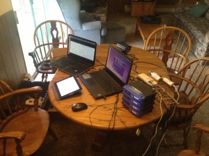 Broadband Ham Radio Network Under Construction