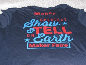Maker Faire Bay Area 2015 T-Shirts for Makers