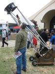 IMG_1579 homemade telescope Maker Faire 15 wayneyoshida