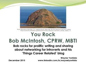 You Rock Bob McIntosh