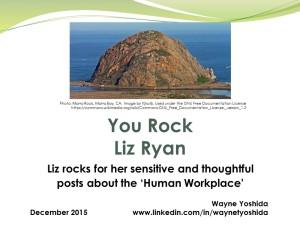 You Rock Liz Ryan