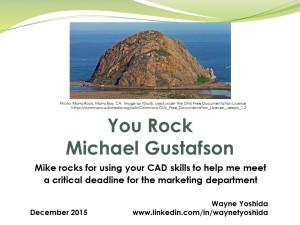 You Rock Mike Gustafson
