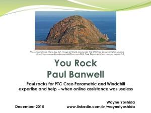 You Rock Paul Banwell