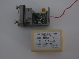 10 GHz Receive Pre-Amplifier (LNA)
