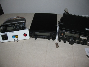 144 MHz and 28 MHz all mode transceivers